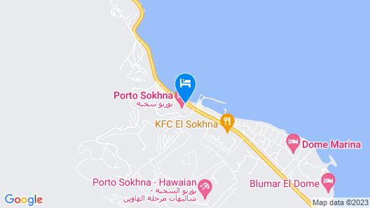 Porto Sokhna Beach Resort Map