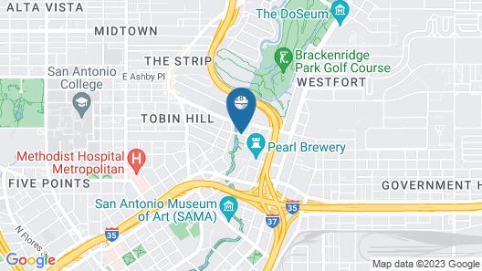 Hotel Emma Map