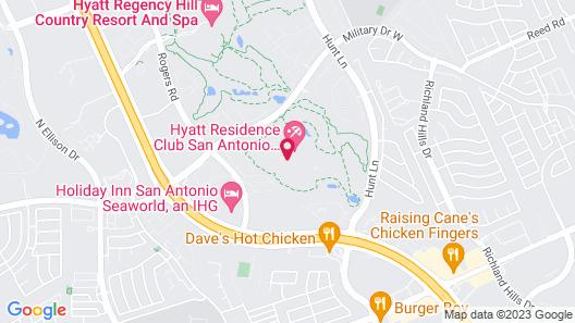 Hyatt Residence Club San Antonio, Wild Oak Ranch Map