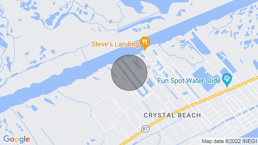 Canalfront RV Rental - Just Bring a Pole! Enjoy the Beautiful Water Views! Map