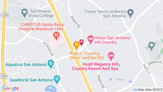 TownePlace Suites by Marriott San Antonio Westover Hills Map