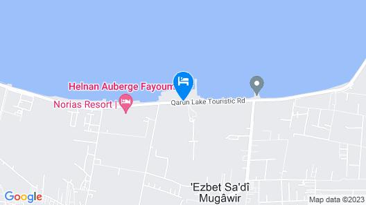 Helnan Auberge Hotel Map