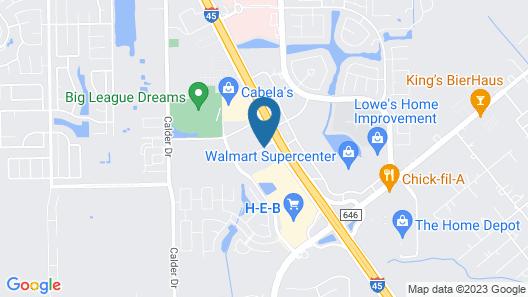 Fairfield Inn & Suites by Marriott Houston League City Map
