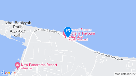 Fayoum Hotel Armed Forces Map
