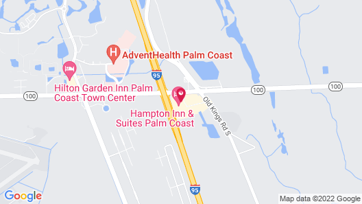 Hampton Inn & Suites Palm Coast Map