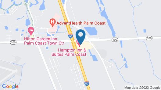 Hampton Inn & Suites Palm Coast Map