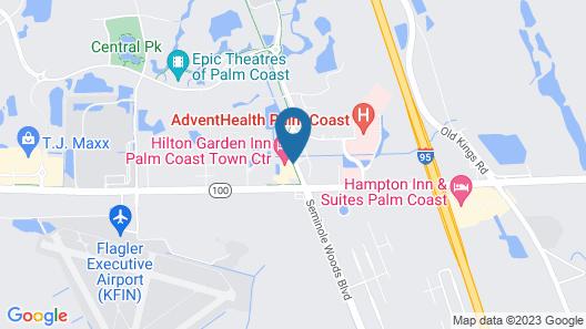 Hilton Garden Inn Palm Coast Town Center Map