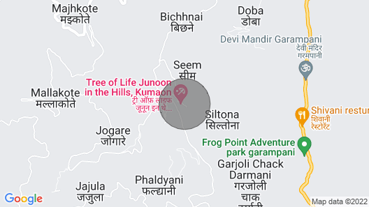 Homestay in Nainital, Picturesque Mountain Views With all Mod-cons Map