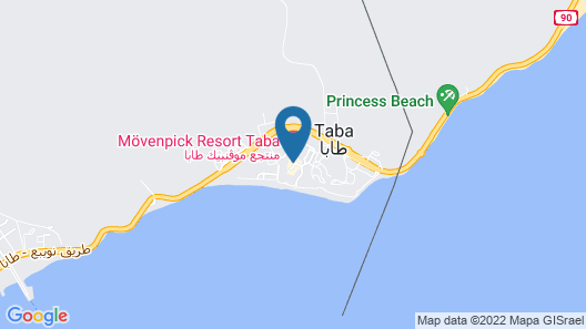 Movenpick Resort Taba Map