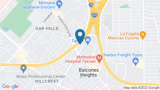 SpringHill Suites by Marriott San Antonio Medical Center/NW Map