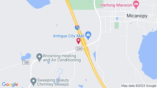 Micanopy Inn Map