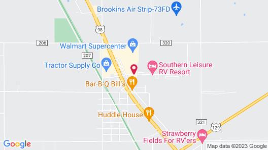 Days Inn by Wyndham Chiefland Map