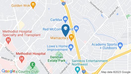 La Quinta Inn & Suites by Wyndham San Antonio Medical Ctr NW Map