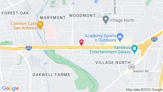 Travelodge Inn & Suites by Wyndham San Antonio Airport Map