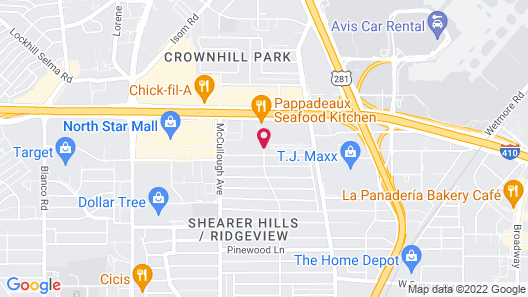 Fairfield Inn & Suites San Antonio Airport/North Star Mall Map