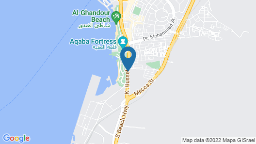 Al Amer Hotel Apartments Map