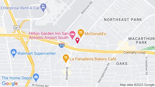 Hilton Garden Inn San Antonio Airport South Map