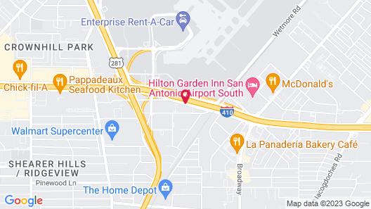 Days Inn by Wyndham San Antonio Airport Map