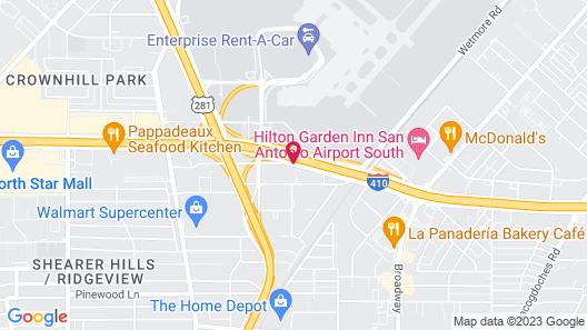 SpringHill Suites by Marriott San Antonio Airport Map