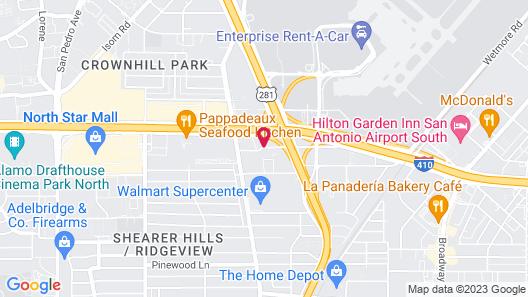 La Quinta Inn & Suites by Wyndham San Antonio Airport Map