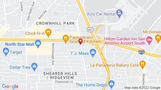 Home2 Suites by Hilton San Antonio Airport, TX Map