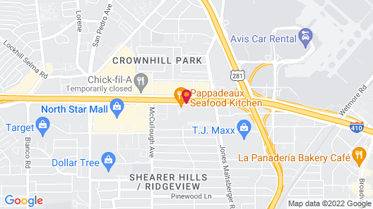 Courtyard by Marriott San Antonio Airport/North Star Mall Map