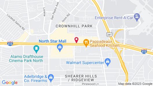 Estancia del Norte San Antonio, Tapestry Collection by Hilton Map