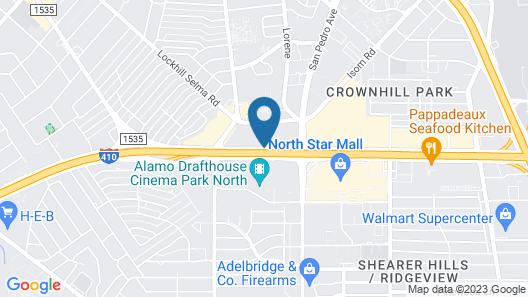 Hilton San Antonio Airport - Northstar Map