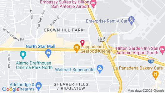 Holiday Inn Express San Antonio-Airport, an IHG Hotel Map