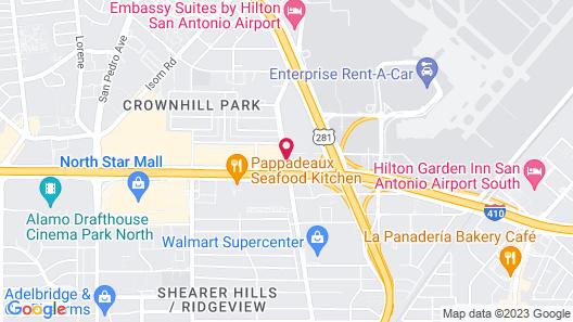 Drury Inn & Suites San Antonio Airport Map