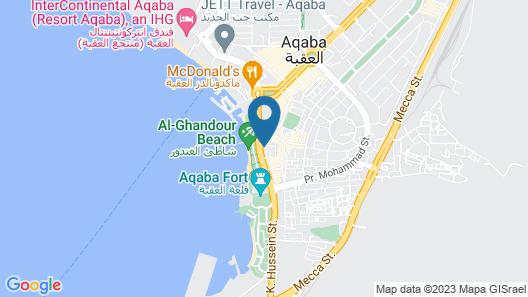 Nairoukh Hotel Aqaba Map