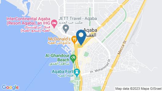 DoubleTree by Hilton Hotel Aqaba Map