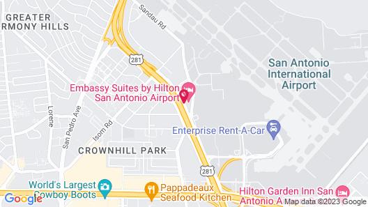 Embassy Suites by Hilton San Antonio Airport Map
