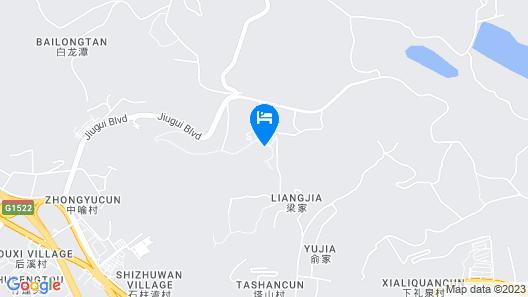 Landison Hotel Xinchang Map