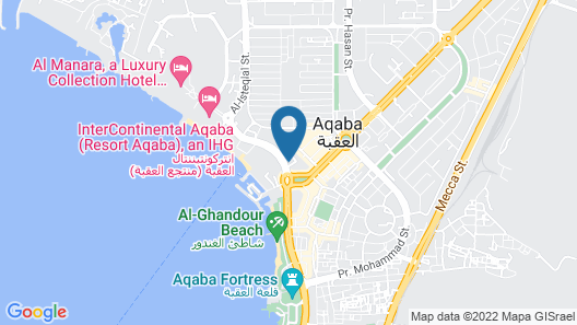 Aqaba Gulf Hotel Map