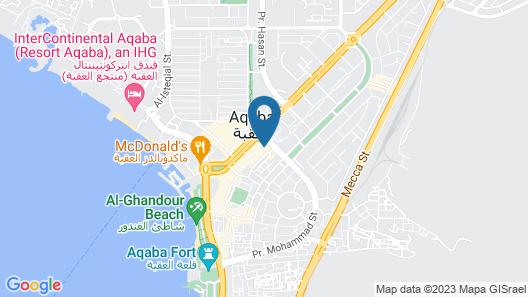 Jardaneh Hotel Map