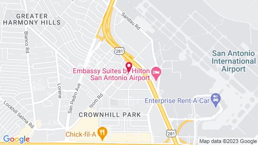 Candlewood Suites San Antonio Airport, an IHG Hotel Map
