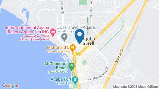 Al Qidra Hotel Aqaba Map