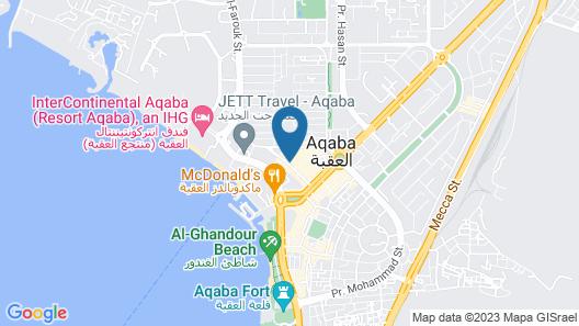 Lacosta Hotel Map