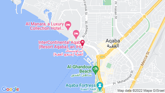 Kempinski Hotel Aqaba Red Sea Map