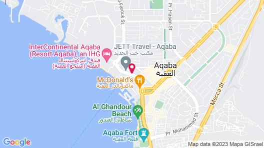 Movenpick Resort & Residences Aqaba Map
