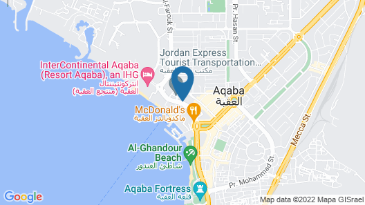 Movenpick Resort & Residences Aqaba Map