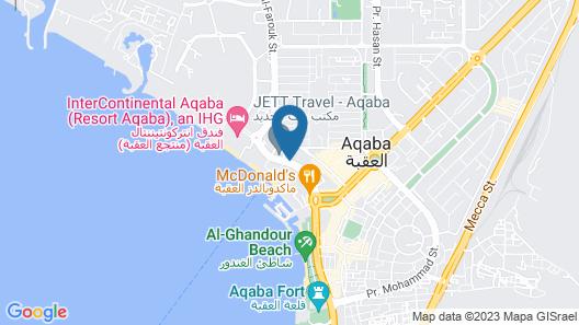Al Amer 1 Map