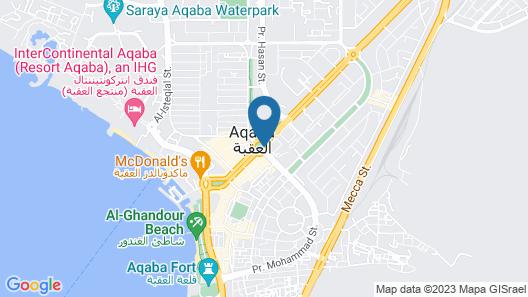 Tala Bay Apartment Rentals Map