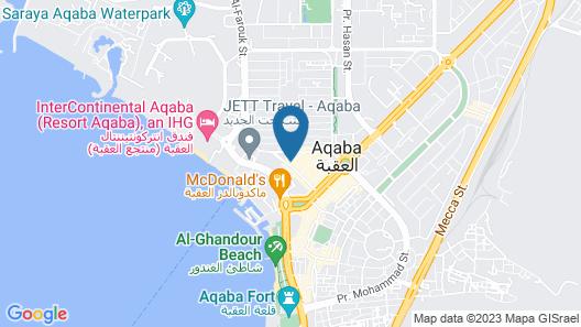ALCAZAR HOTEL Map