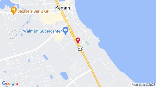 Days Inn by Wyndham Kemah Map