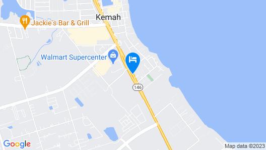 Palace Inn Blue Kemah Map