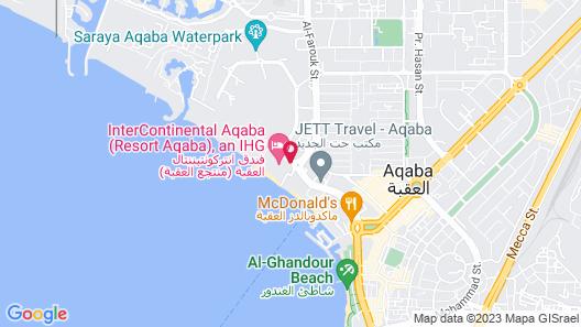 InterContinental Resort Aqaba, an IHG Hotel Map