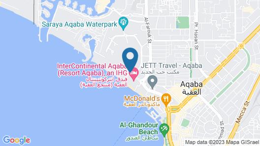 Al Manara, a Luxury Collection Hotel, Saraya Aqaba Map