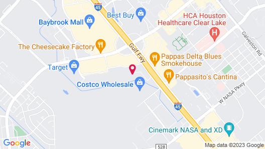 Tru by Hilton Houston Webster NASA Map